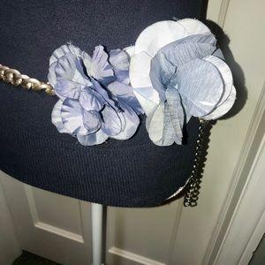 Ann Taylor Flower Chain Belt